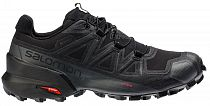 Кроссовки женские Salomon Speedcross 5 GTX Bk/Bk/Phant