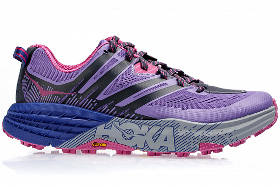 Кроссовки женские Hoka Speedgoat 3 Paisley Purple/Ebony