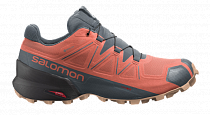 Кроссовки женские Salomon Speedcross 5 Gtx Persimon/Ph
