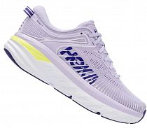 Кроссовки женские Hoka Bondi 7 Purple Heather/Clematis Blue