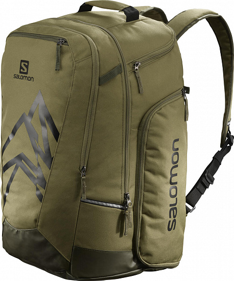 Сумка для ботинок Salomon Extend Go-To-Snow Gearbag Martini Olive - Фото 1 большая