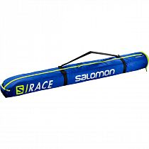Чехол для лыж Salomon Extend 165+20 Race Blue/Neon Yellow