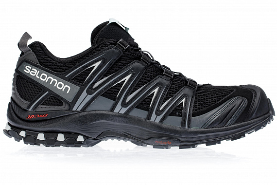 Кроссовки мужские Salomon Xa Pro 3D Black/Magnet/Quiet S