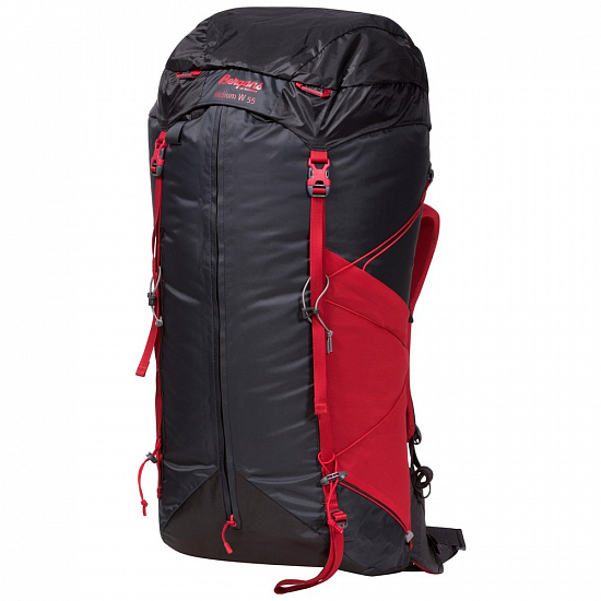 Рюкзак женский Bergans Helium 55 Solid Charcoal/Red - Фото 1 большая