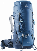 Рюкзак Deuter Aircontact 55 + 10 Midnight-Navy