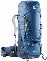 Рюкзак Deuter Aircontact 45 + 10 Midnight-Navy