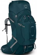 Рюкзак женский Osprey Ariel Plus 60 Night Jungle Blue