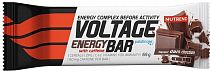 Энергетический батончик Nutrend Voltage Energy Bar 65 гр Темный шоколад с кофеином