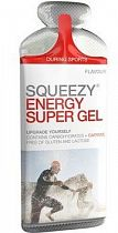 Гель с электролитами и кофеином Squeezy Energy Super Gel Кола