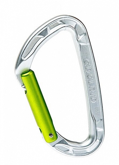 Карабин Edelrid Pure Straight Silver