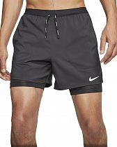 Шорты мужские Nike Flex Stride 2In1 Short 5In Black/Black/Reflective Silv