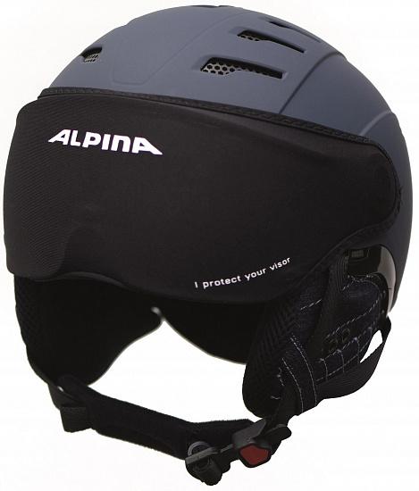 Чехол для визора шлема Alpina Ski Helmet Visor Cover - купить в магазине Спорт-Марафон с доставкой по России