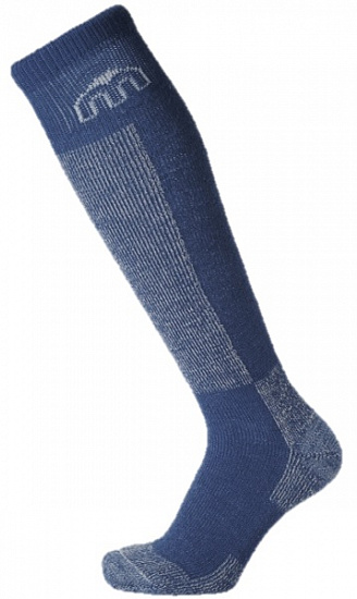 Носки детские MICO Kids Ski Sock in wool+polypropylene Blue - Фото 1 большая