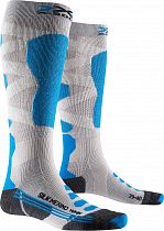 Носки женские X-socks Ski Silk Merino 4.0 White/Black/Turquoise