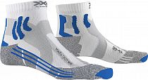 Носки женские X-Socks Marathon White/Twyce Blue/Grey Melange