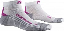 Носки X-Socks Run Discovery White/Twyce Purple/Grey Melange