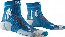 Носки X-Socks Marathon Energy Teal Blue/Arctic White