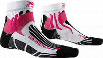Носки женские X-Socks Run Speed Two Arctic White/Opal Black