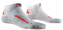 Носки женские X-Socks Run Discovery Arctic White/Dolomite Grey