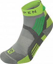 Носки Lorpen T3 Trail Running Padded Grey/Green
