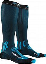 Носки X-Socks Run Energizer Teal Blue/Opal Black