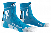 Носки X-Socks Run Speed One Teal Blue/Arctic White