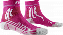 Носки женские X-Socks Run Speed Two Flamingo Pink/Pearl Grey