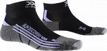 Носки женские X-Socks Run Discovery Black/Stone Grey/Melange