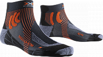 Носки X-Socks Marathon Retina Stone Grey Melange/X-Orange
