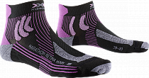 Носки женские X-Socks Marathon Retina Black/Twyce Purple