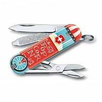 Нож-брелок Victorinox Let It Pop!