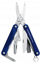 Мультитул Leatherman Squirt ES4 Blue