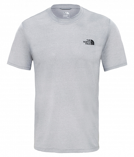 Футболка мужская The North Face Reaxion Amp Crew Light Grey - Фото 1 большая