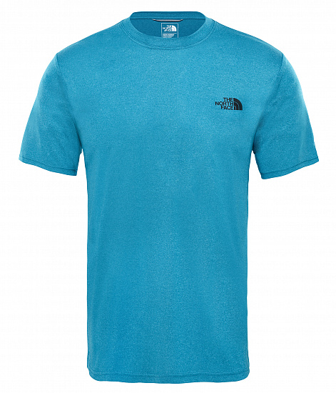 Футболка мужская The North Face Reaxion Amp Crew Crystal Teal