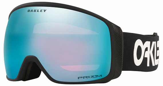 Горнолыжная маска Oakley Flight Tracker Xl Factory Pilot Black/Prizm Snow Sapphire Iridium - Фото 1 большая