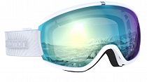 Горнолыжная маска Salomon Ivy Photo Sigma Wh/AW Sky Blue