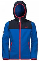 Куртка детская Jack Wolfskin Fourwinds Coastal Blue