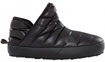 Тапки женские The North Face ThermoBall Traction Bootie Shiny Black/Beluga Grey