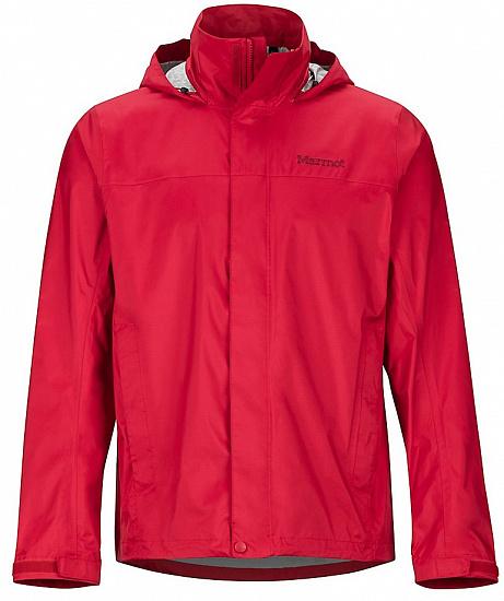 Куртка мужская Marmot PreCip Eco Team Red - купить в магазине Спорт-Марафон с доставкой по России
