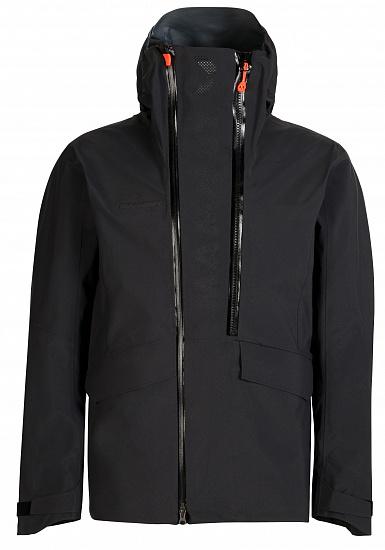 Куртка мужская Mammut THE HS Hooded Black - купить в магазине Спорт-Марафон с доставкой по России