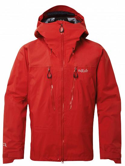 Куртка мужская Rab Latok GTX Ascent Red - купить в магазине Спорт-Марафон с доставкой по России