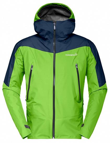 Куртка мужская Norrona Falketind Gore-Tex Bamboo Green - купить в магазине Спорт-Марафон с доставкой по России