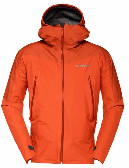 Куртка мужская Norrona Falketind Gore-Tex Pureed Pumpkin/Rooib - купить в магазине Спорт-Марафон с доставкой по России
