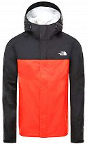 Куртка мужская The North Face Venture 2 Fiery Red/Tnf Black/Tnf White