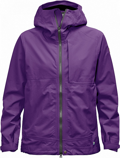 Куртка женская Fjallraven Abisko Eco-Shell Purple