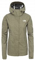 Куртка женская The North Face Venture 2 Burnt Olive Green Rain Camo Print
