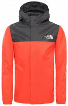 Куртка детская The North Face Resolve Rain Fiery Red