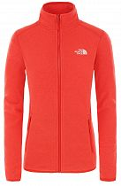 Куртка женская The North Face 100 Glacier Full Zip Cayenne Red