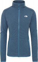Куртка женская The North Face 100 Glacier Full Zip Mallard Blue/Aviator Navy