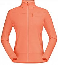 Куртка женская Norrona Falketind WarmWool2 Stretch Flamingo